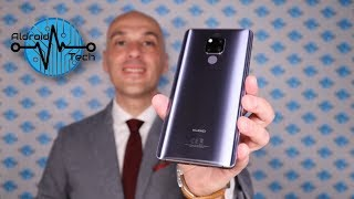 Huawei Mate 20 X Phantom Silver - Recensione _ il Top phablet completo e performante _