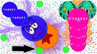 Agar.io - AGARIO AMAZING SOLO GAMEPLAY // POPSPLIT, VANISHSPLIT (Agar.io Destroying Teams)