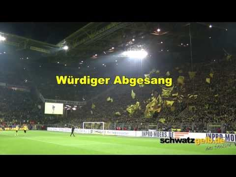 Und wenn Du das Spiel verlierst... Borussia Dortmund  - Bayern München - 23.11.2013