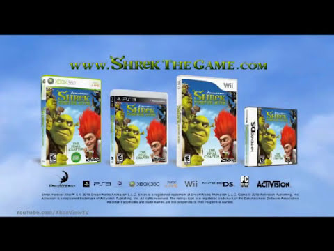 Shrek 4: Forever After Video Game - Trailer