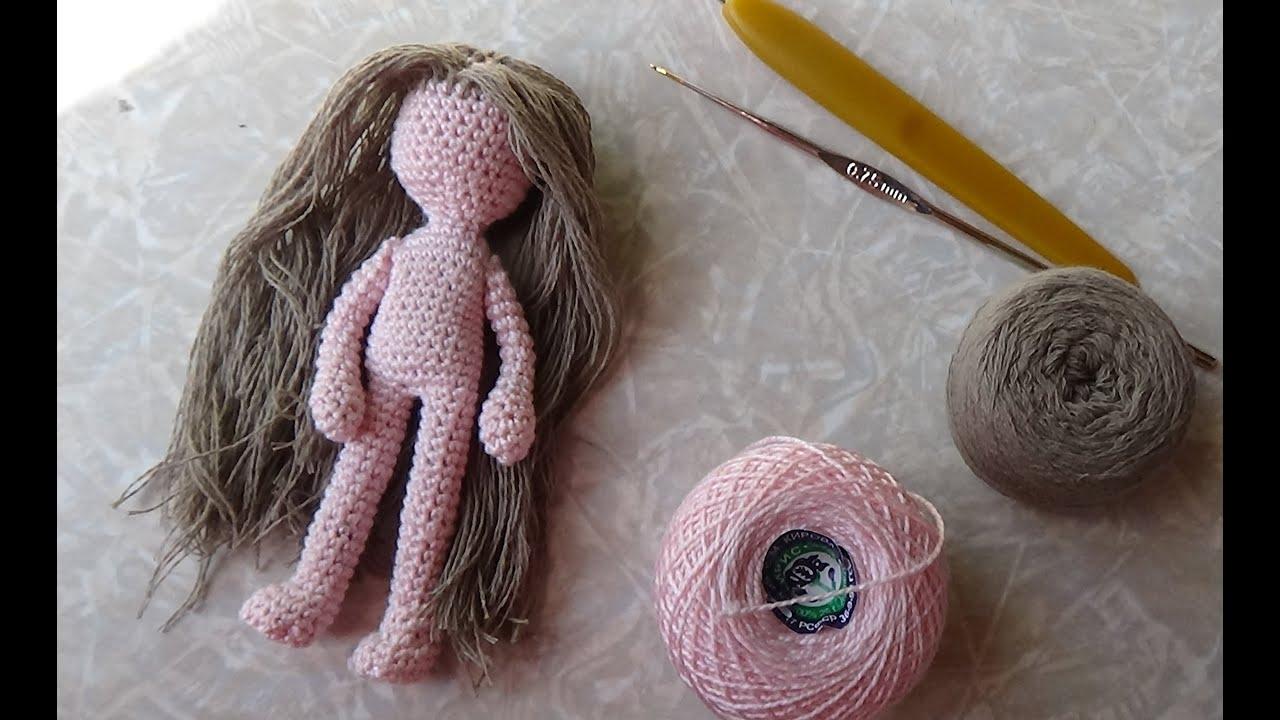 Связать куколку видео 26