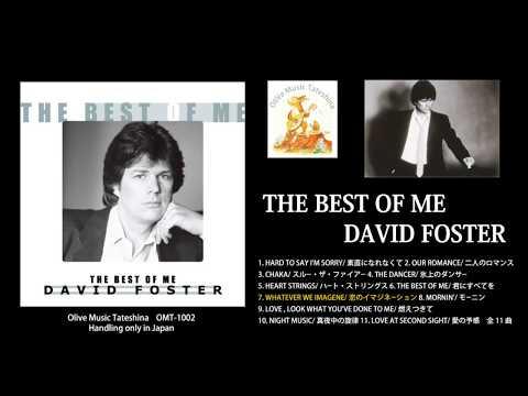 THE BEST OF ME / DAVID FOSTER ダイジェスト アルバム試聴