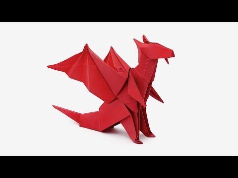 Origami Dragon (Jo Nakashima) -Dragon #6