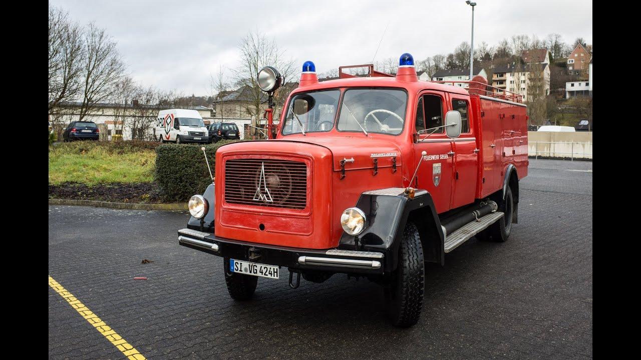 Fear Of Driving >> Magirus Deutz Mercur 150 TLF 16 1963 Probefahrt - YouTube