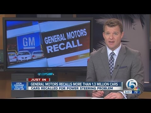 General Motors recalls more than 1.3 Million cars