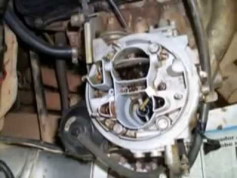 LIMPEZA DE CARBURADOR SEM DESMONTAR HOW TO CLEAN THE CARB CAR