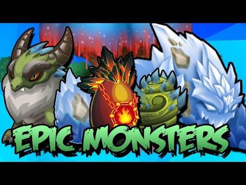 COMBINACIONES DE TODOS LOS MONSTRUOS EPICOS - Monster Legends (Actualizado 2018)