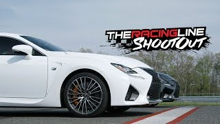 Track Battle! Randy vs Justin in the Lexus RC F, GS F & LC 500 - The Racing Line Shootout