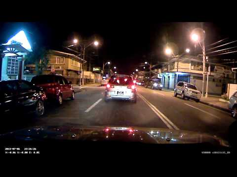 Livue LB100 - Night Test Video - Port of Spain, Trinidad