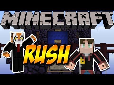 PEINLICH =P   Minecraft RUSH   mit Liskario und Andre
