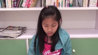 "201901 Sandy English level 1 Amber C. reading ""Max the Dog"""