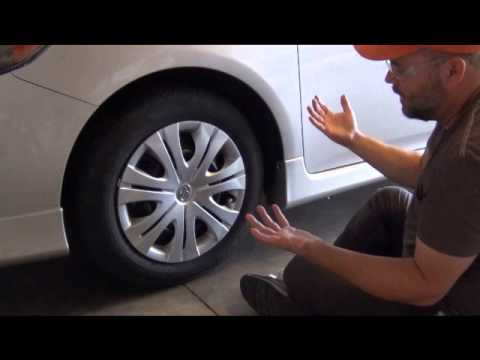 How To Remove A Plastic Wheel Cover Hubcap Youtube