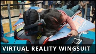 Virtual Reality Wingsuit Experience brought to you by Point Break - Highlights