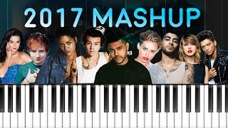 Download Lagu 2017 MASHUP :  Billboard Piano Hit Songs Megamix Gratis STAFABAND