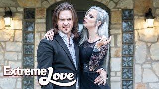 Suckers For Love! Couple Plan 'Vampire Wedding' | EXTREME LOVE