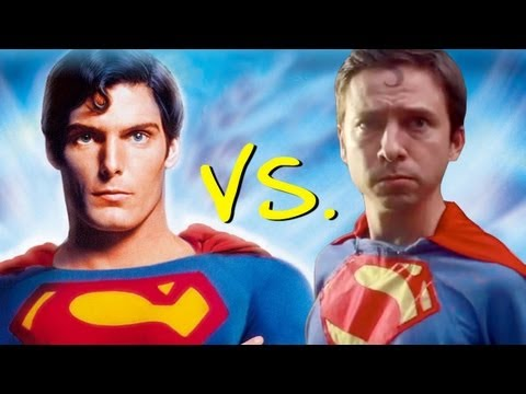"Superman: The Movie - ""Superman Saves Lois"" - Homemade (Comparison)"