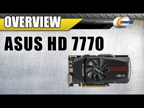 Newegg TV: ASUS AMD Radeon HD 7770 GHz Edition Overclocked Video Card