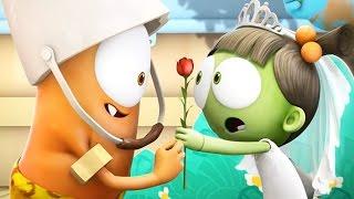 Funny Animated Cartoon   Spookiz School Play Love Story 스푸키즈   Cartoon for Children