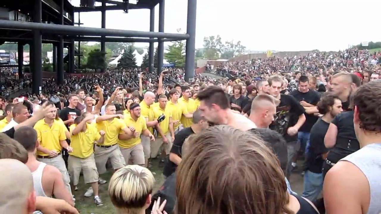 Mayhem Fest 2012 Mayhem Fest 2010 Most Pit on