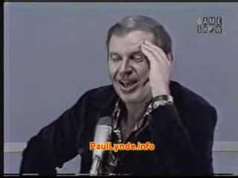 Paul Lynde on Our Government Video