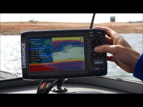 Lowrance Elite CHIRP Sonar Introduction