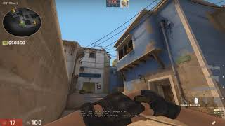 2 New USEFUL Mirage Smokes (Smoke Ramp & B Apps from CT Spawn)