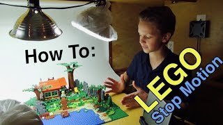 How to Film Lego Stop Motion