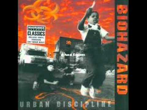 Biohazard - Black And White And Red All Over