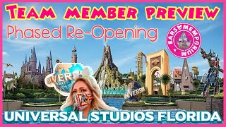 🔴LIVE:Team Member Preview. Universal Studios Florida.Islands Of Adventure.Phased Re-Opening!  Part2