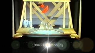eurovision stages 1956 -  2013