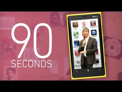 Google I/O, Microsoft, and Apple&#039;s App Store - 90 Seconds on The Verge