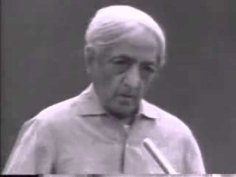 J Krishnamurti on Inattention, Understanding and Action (Saanen 1980 - Q&A 3 Extract)