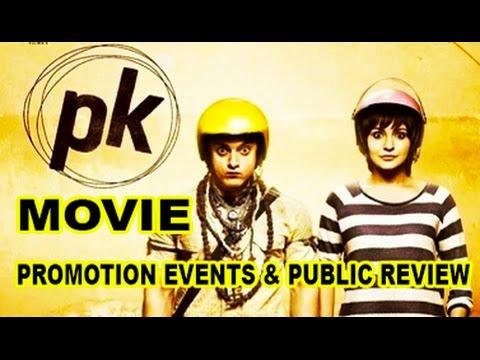 Pk Movie (2014) | Aamir Khan | Anushka Sharma | Full Promotion Events | Public Review - Pk (film) video