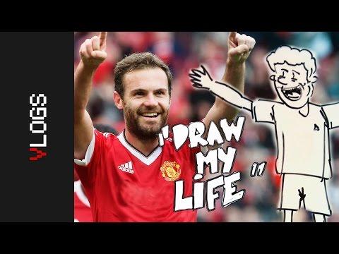 DRAW MY LIFE | Juan Mata