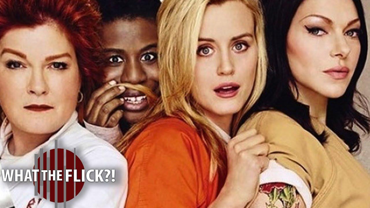 Оранжевый это новый черный год в женской тюрьме