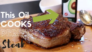 Which OIL cooks the BEST steak?