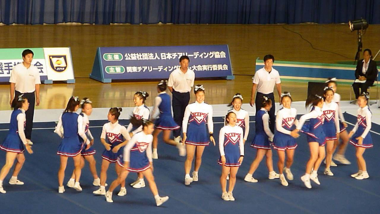関東チアリーディング選手権2015 県立麻生高校... 関東チアリーディング選手権2015 県立