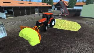 Farming Simulator 2013 Sistemazione insilato nelle trincee (alternative Tipping mods)