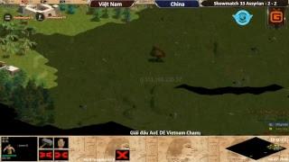 AoE | 22 Shang Hỗn Mã | Việt Nam vs China Ngày 04-07-2018