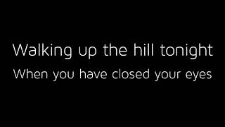 billie eilish - the hill with lyrics