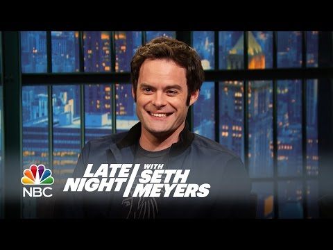 Bill Hader's Impression That Never Made SNL - Late Night with Seth Meyers