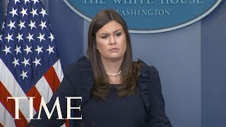 White House Press Briefing: Report President Trump Will Change DACA Program, Hurricane Relief | TIME