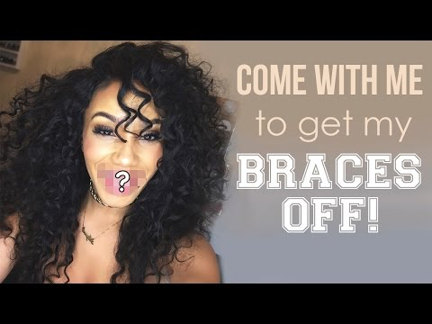 Come with Me to Get My Braces Off!! | VLOG