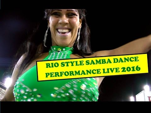 RIO STYLE SAMBA DANCE PERFORMANCES 2016:  SOLO AND SAMBA GROUP CHOREOGRAPHY
