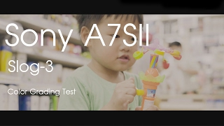Sony a7s II sLog-3 Color Grading Test - 4K