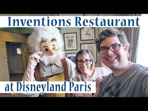 Inventions Restaurant at Disneyland Paris