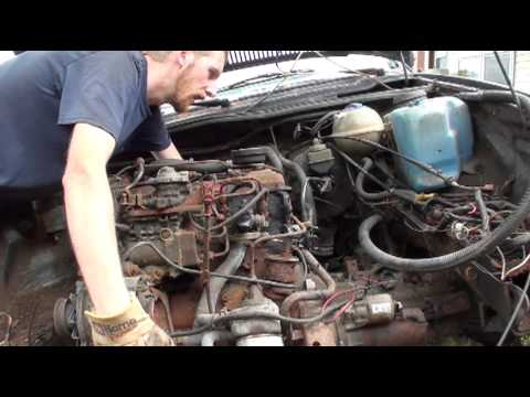 No Hoist Engine Removal (1991 VW Jetta)