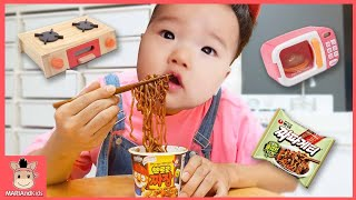 Pororo Noodle pretend play Nursery Rhymes & Kids Songs for children with toys | MariAndKids