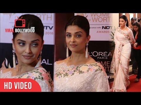 Aishwarya Rai Bachchan at Loreal Paris Women of Worth Awards 2016 | NDTV