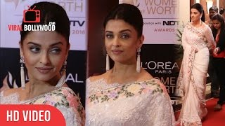 Aishwarya Rai Bachchan at Loreal Paris Women of Worth Awards 2016   NDTV